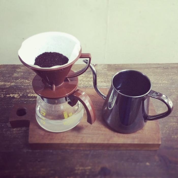 ペーパードリップで手軽に美味しいコーヒー