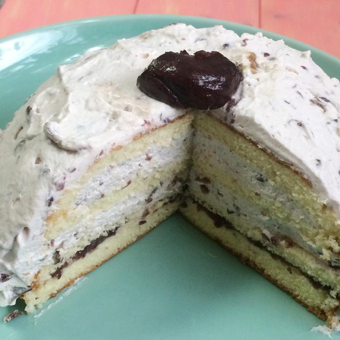 ズコット風ケーキ、ドームケーキ3