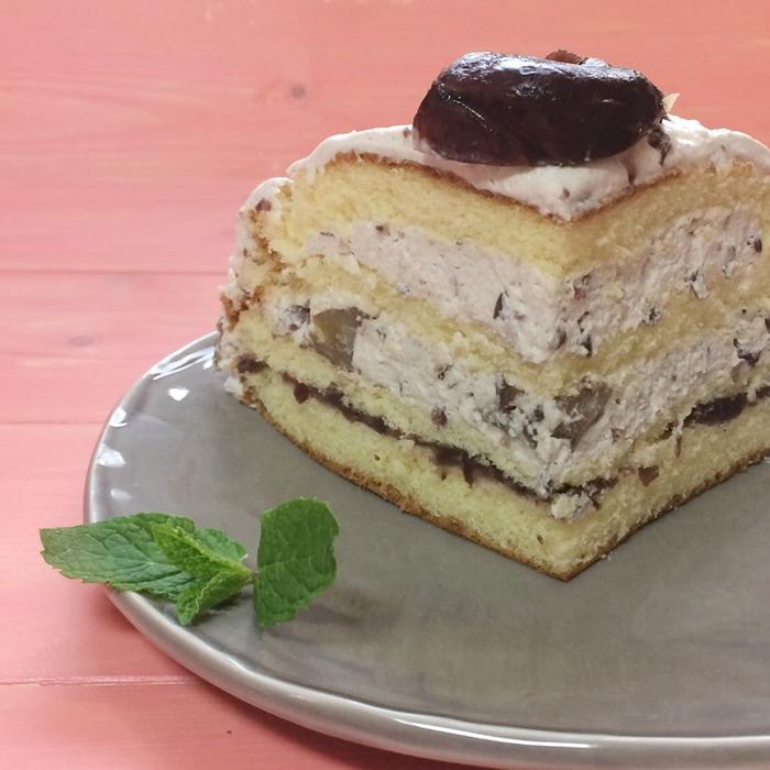 ズコット風ケーキ、ドームケーキ5