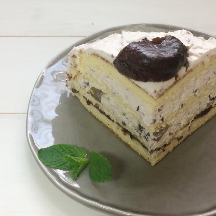 ズコット風ケーキ、ドームケーキ6