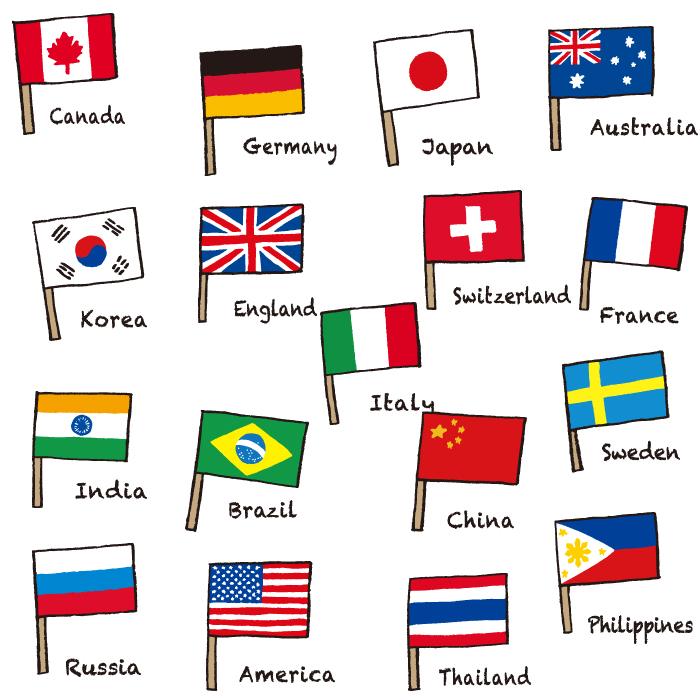 オリンピック、国旗